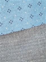 Шарф Fabio Toma MATO 100% шерсть Серо-голубой Италия изображение 1