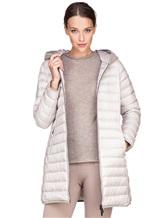 Пальто Peserico S24078C01 100% полиэстер Светло-серый Китай изображение 0