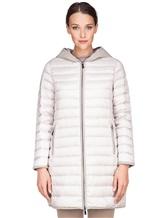 Пальто Peserico S24078C01 100% полиэстер Светло-серый Китай изображение 1
