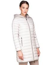 Пальто Peserico S24078C01 100% полиэстер Светло-серый Китай изображение 2