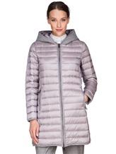 Пальто Peserico S24078C01 100% полиэстер Серый Китай изображение 0