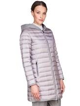 Пальто Peserico S24078C01 100% полиэстер Серый Китай изображение 3
