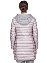 Пальто Peserico S24078C01 100% полиэстер Серый Китай изображение 4