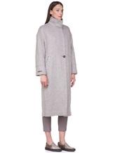 Пальто Peserico S20410 90% шерсть, 10% полиамид Серо-бежевый Италия изображение 2