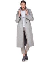 Пальто Peserico S20410 90% шерсть, 10% полиамид Светло-серый Италия изображение 0