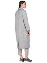 Пальто Peserico S20410 90% шерсть, 10% полиамид Светло-серый Италия изображение 3