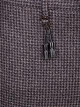 Брюки Incotex 1AT030 100% шерсть Сине-коричневый Румыния изображение 4