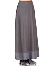 Юбка EREDA E251507 97% шерсть, 3% эластан Серый Италия изображение 2