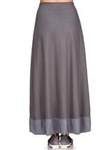 Юбка EREDA E251507 97% шерсть, 3% эластан Серый Италия изображение 3