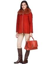 Пальто Herno GC0150D 80%шерсть 20%полиамид Терракотовый Италия изображение 0