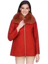 Пальто Herno GC0150D 80%шерсть 20%полиамид Терракотовый Италия изображение 1