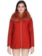 Пальто Herno GC0150D 80%шерсть 20%полиамид Терракотовый Италия изображение 2