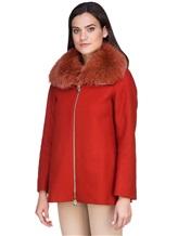 Пальто Herno GC0150D 80%шерсть 20%полиамид Терракотовый Италия изображение 3
