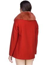 Пальто Herno GC0150D 80%шерсть 20%полиамид Терракотовый Италия изображение 4