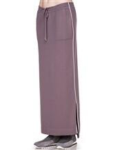 Юбка EREDA E252459/SL 70% шерсть, 30% кашемир Лиловый Италия изображение 2