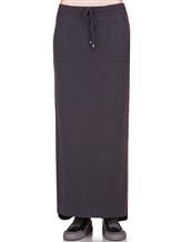 Юбка EREDA E252459/SL 70% шерсть, 30% кашемир Темно-серый Италия изображение 1