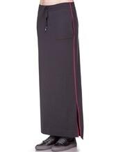 Юбка EREDA E252459/SL 70% шерсть, 30% кашемир Темно-серый Италия изображение 2