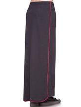 Юбка EREDA E252459/SL 70% шерсть, 30% кашемир Темно-серый Италия изображение 3