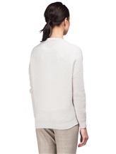 Кардиган Peserico S99130F07 70% шерсть, 20% шёлк, 10% кашемир Светло-серый Италия изображение 4