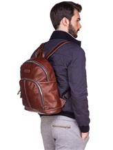 Рюкзак A.G.Spalding&Bros 180151 100% кожа Светло-коричневый Китай изображение 1