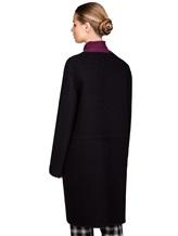 Пальто Santoni DH1B00003 71% шерсть, 29% мохер Черный Италия изображение 4
