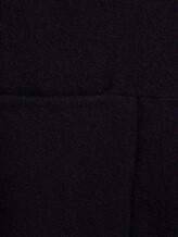 Пальто Santoni DH1B00003 71% шерсть, 29% мохер Черный Италия изображение 5