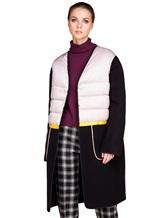 Пальто Santoni DH1B00003 71% шерсть, 29% мохер Черный Италия изображение 0