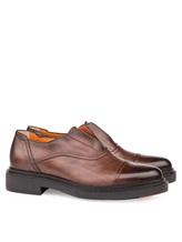 Туфли Santoni MGWG15803 100% кожа Коричневый Италия изображение 0