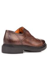 Туфли Santoni MGWG15803 100% кожа Коричневый Италия изображение 3