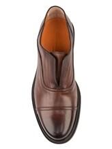 Туфли Santoni MGWG15803 100% кожа Коричневый Италия изображение 4