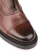 Туфли Santoni MGWG15803 100% кожа Коричневый Италия изображение 5