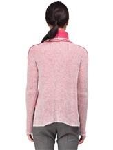 Свитер Peserico S99244F05 70% альпака, 30% полиамид Бело-розовый Италия изображение 3