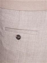 Брюки Peserico P04995 98% шерсть, 2% эластан Серо-бежевый Италия изображение 4