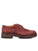 Ботинки Santoni MGMN15729 100% кожа темно-лиловый Италия изображение 1