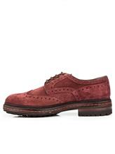 Ботинки Santoni MGMN15729 100% кожа темно-лиловый Италия изображение 2