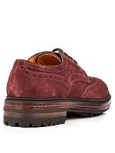 Ботинки Santoni MGMN15729 100% кожа темно-лиловый Италия изображение 3
