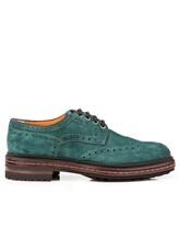 Ботинки Santoni MGMN15729 100% кожа Изумрудный Италия изображение 1