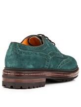Ботинки Santoni MGMN15729 100% кожа Изумрудный Италия изображение 3