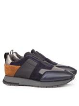 Кроссовки Santoni MBVR20625 100% кожа Синий Италия изображение 0