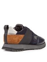 Кроссовки Santoni MBVR20625 100% кожа Синий Италия изображение 3