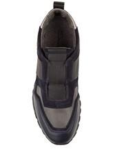 Кроссовки Santoni MBVR20625 100% кожа Синий Италия изображение 4