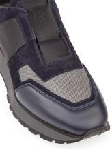 Кроссовки Santoni MBVR20625 100% кожа Синий Италия изображение 5