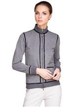 Куртка Capobianco 3W432 95% хлопок, 5% эластан Серый Италия изображение 0