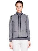 Куртка Capobianco 3W432 95% хлопок, 5% эластан Серый Италия изображение 1