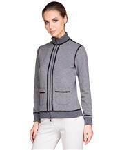 Куртка Capobianco 3W432 95% хлопок, 5% эластан Серый Италия изображение 2