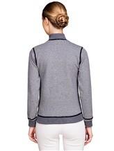 Куртка Capobianco 3W432 95% хлопок, 5% эластан Серый Италия изображение 3