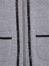 Куртка Capobianco 3W432 95% хлопок, 5% эластан Серый Италия изображение 4