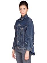 Куртка ERIKA CAVALLINI E7AU01 100%хлопок Синий Италия изображение 2