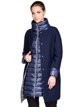Куртка Herno PI0685D 42% хлопок, 33% шерсть, 25% полиамид Синий Италия изображение 6