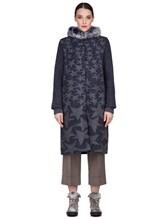 Пальто Lorena Antoniazzi LP3208C3 90% шерсть, 10% кашемир Сине-серый Италия изображение 1